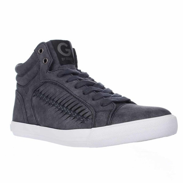 a4b695e40f914 Shop G by Guess Womens Olisa Hight Top Lace Up Fashion Sneakers ...