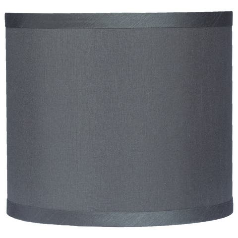 Classic Drum Faux Silk Lamp Shade 8-inch to 16-inch Available