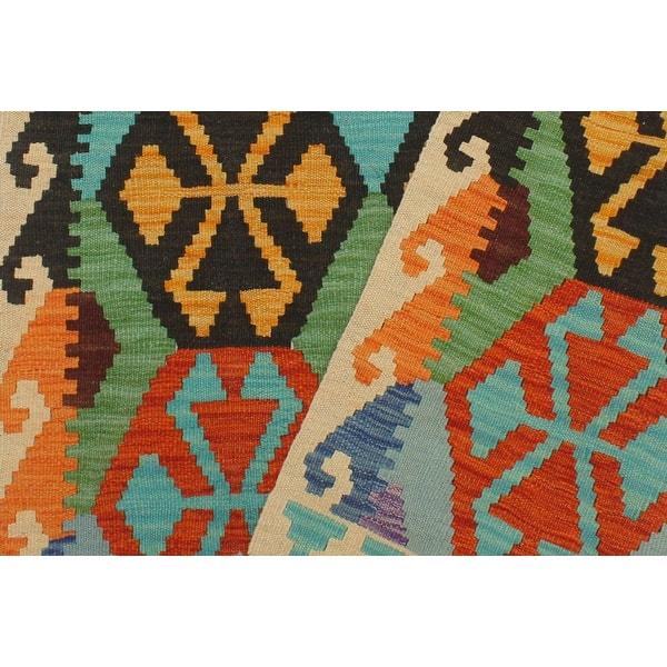 Rustic Turkish Kilim Zane Hand Woven Area Rug 3 3 X 5 0 Overstock 32540769