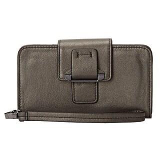 Kooba Womens PDA Wristlet Leather Shimmer