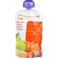 Happy Family - Stage 4 Baby Food Organic Pumpkin, Sweet Potato & Pear ( 16 - 4.22 OZ)