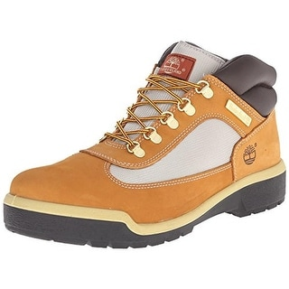 Timberland Mens Field Nubuck Colorblock Ankle Boots