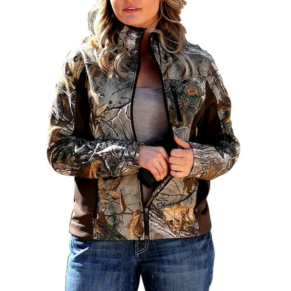 2f091888e22c0 Shop Cinch Western Jacket Womens Outdoor Conceal Fleece Brown - Free  Shipping Today - Overstock - 15415507
