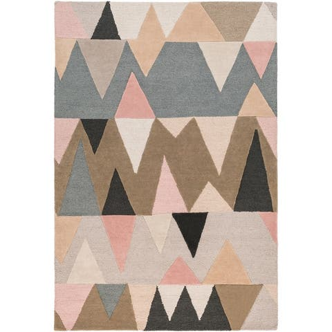 Carson Carrington Ackas Hand-tufted Wool Runner Rug