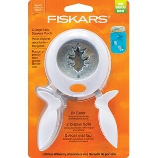 Oak Leaf - Fiskars Squeeze Punch X-Large