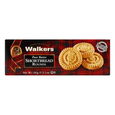 Walkers Shortbread Rounds, 5.3 OZ (Pack of 12)