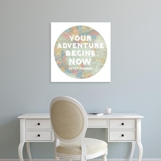 Easy Art Prints Sue Schlabach's 'Hemisphere I' Premium Canvas Art