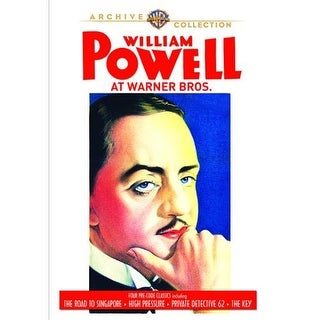 William Powell At Warner Bros. DVD Movie 1931-34