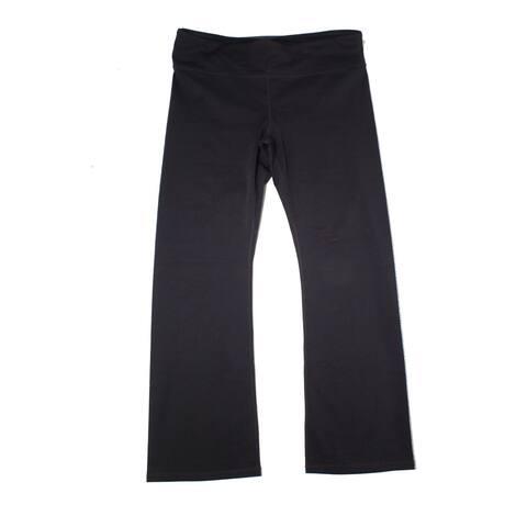 prAna Womens Pants Black Size 3X Plus Pilar Regular Pull-On Stretch