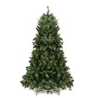 6.5' Pre-lit Minetoba Pine Artificial Christmas Tree - Clear Lights