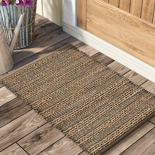 """Link to Interwoven Gray Natural Reversible Accent Rug - 2'0"""" x 3'0"""" Similar Items in Kitchen Appliances"""
