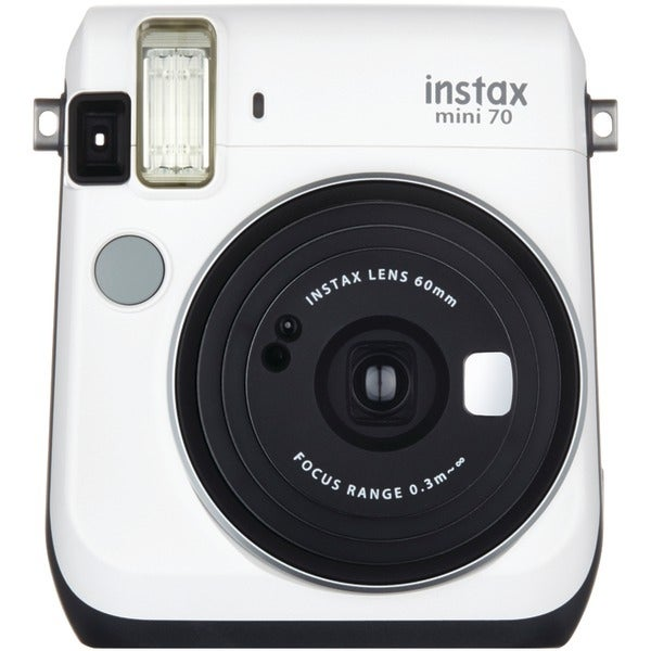 Fujifilm 16496043 Instax(R) Mini 70 Instant Camera (White)