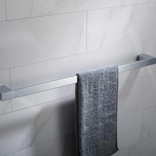 Link to KRAUS Stelios Bathroom 24 inch Towel Bar Similar Items in Bath