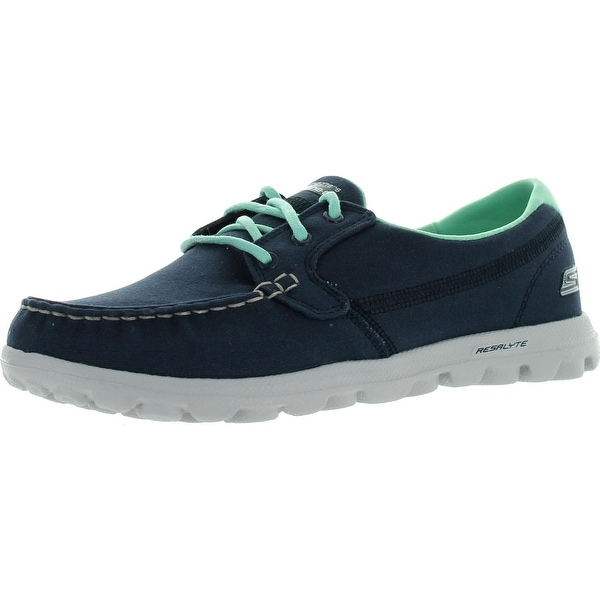 93a7bfb35bea Skechers Performance Womens On The Go Clipper Boat Shoes - stone - 9.5 b(m