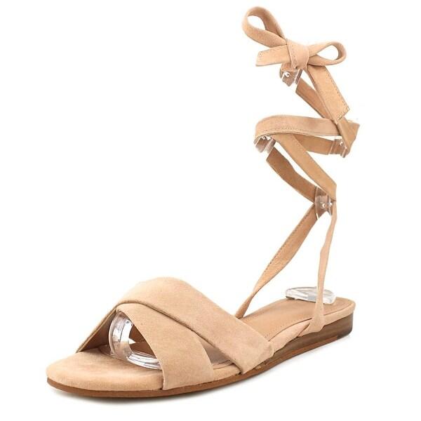Marc Fisher Finlie Women Open Toe Suede Pink Gladiator Sandal
