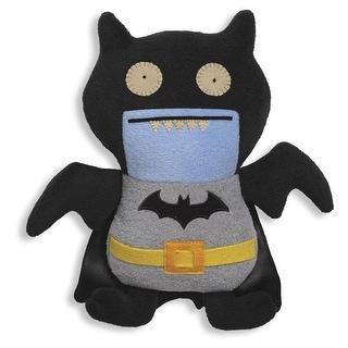 "Ugly Dolls DC Comics 11"" Plush: Black Ice-Bat Batman"