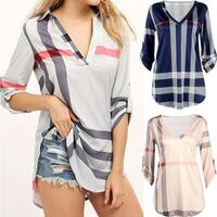 Playful Plaid Tunic in 5 Shiny Styles