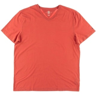 Tommy Hilfiger Mens Elmira Cotton Monogram T-Shirt