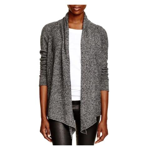 Aqua Cashmere Womens Cardigan Sweater Cashmere Open Front