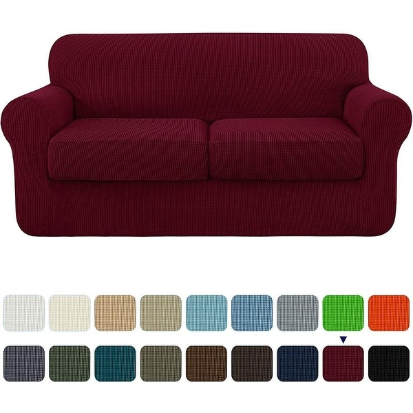 Subrtex Slipcover Stretch Loveseat Cover with Separate Cushion Cover. Opens flyout.