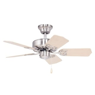 "Delacora DF-4501 30"" Indoor Ceiling Fan - Includes 5 MDF Blades and 4"" Downrod"