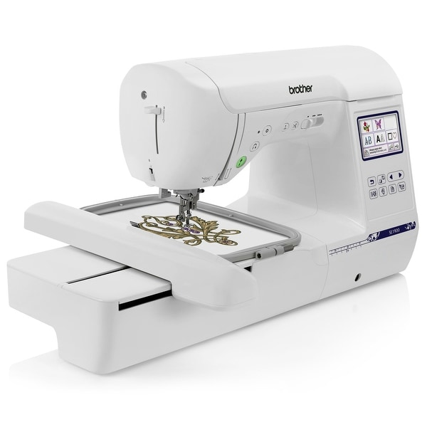 Shop Brother SE40 Sewing And Embroidery Machine W 40 X 40 Hoop Best Sewing Machine Games Online Free
