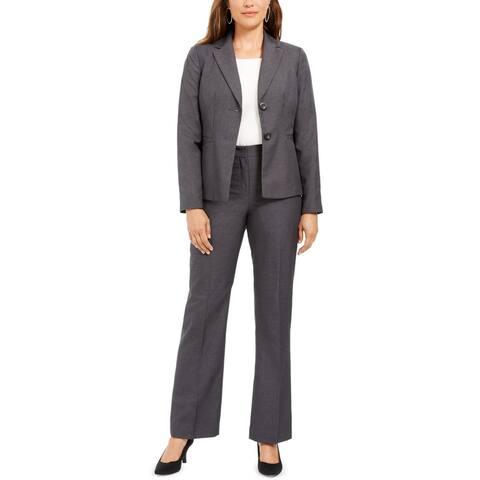 Le Suit Womens Pant Suit Business Career