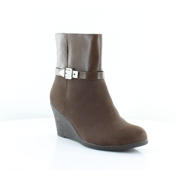 American Living Zola Women's Boots DK Brown - 7