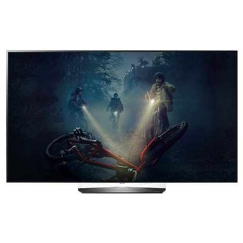 "Refurbished LG 65"" OLED 4K HDR Smart TV - Black - 65"