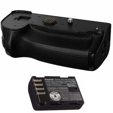 Panasonic Authentic LUMIX G9 Vertical Battery Grip DMW-BGG9 Bundle