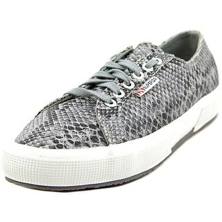 Superga 2750 Cotsnake Women W Canvas Black Fashion Sneakers