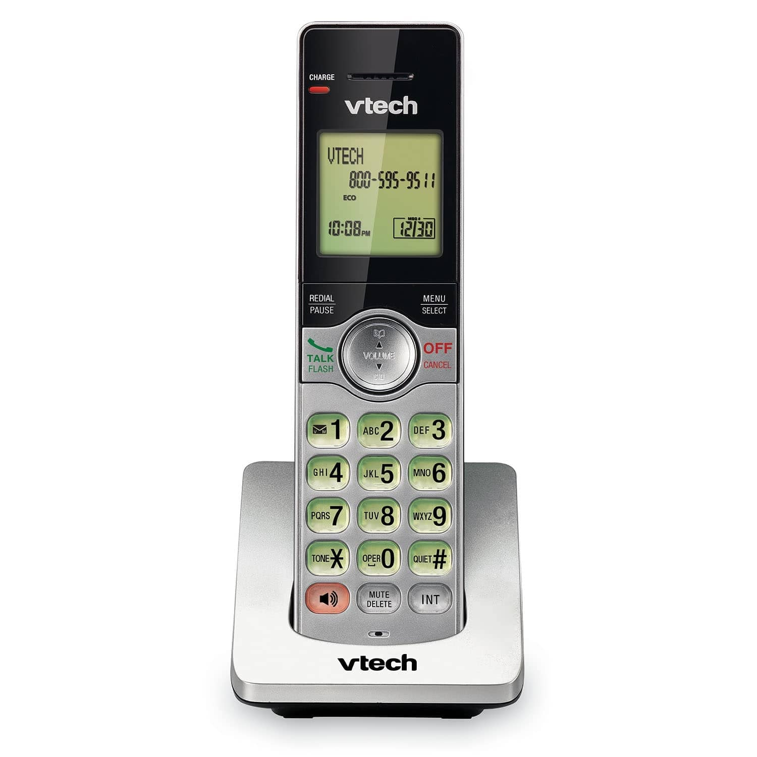 Home Business VTech Cordless Phone ☎️ 2 Handsets with Caller ID Silver//Black