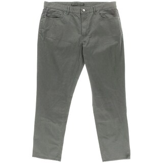 Michael Kors Mens Cotton Tailored Fit Chino Pants