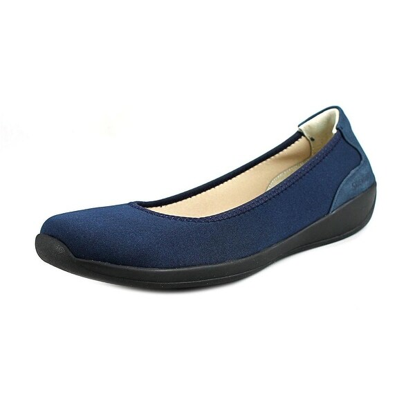 Stretchies Joyce II Round Toe Synthetic Loafer