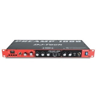 8-Ch Professional Preamplifier with USB Audio Interface - USB