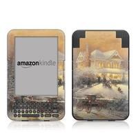 Thomas Kinkade AK3-VICCHRS Kindle Keyboard Skin - Victorian Christmas