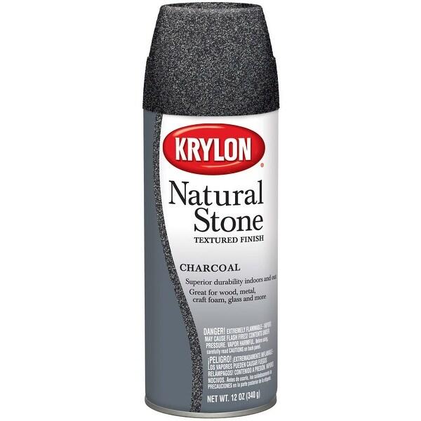 Natural Stone Aerosol Spray 12oz-Charcoal - gray