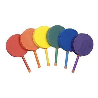 7 in. Racquetball Foam Paddle Set, Multicolor - Set of 6