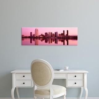 Easy Art Prints Panoramic Images's 'Skyline San Diego CA' Premium Canvas Art