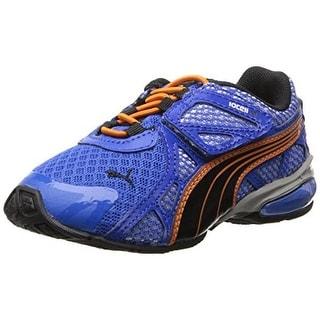 Puma Boys Voltaic 5 Patent Trim Athletic Shoes
