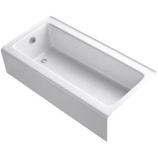 "Kohler K-837 Bellwether 60"" Alcove Soaking Tub with Left Drain"