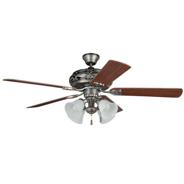 """Craftmade GD52AN5C Grandeur 52"""" 5 Blade Indoor Ceiling Fan with Light Kit and Blades Included"""
