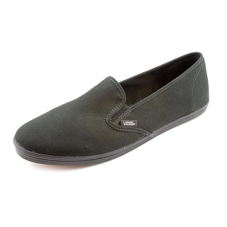 Vans Slip-On Lo Pro Women Round Toe Canvas Black Loafer