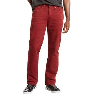Link to Levi's Mens 514 Straight Leg Jeans, Red, 32W x 32L Similar Items in Pants