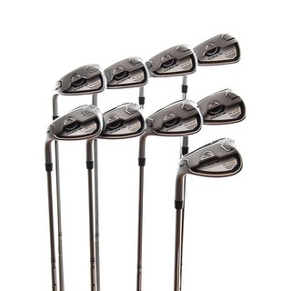 New Cobra Fly-Z Iron Set 4-PW,GW,SW R-Flex Dynalite XP 85 Steel LEFT HANDED