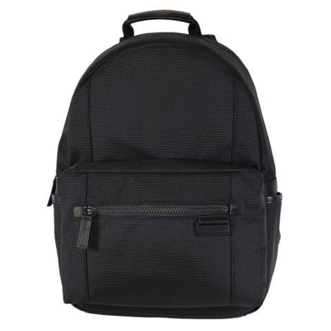 0da605537a9d9b Michael Kors Men's Black Nylon Travis Backpack Rucksack Bag - 11.25