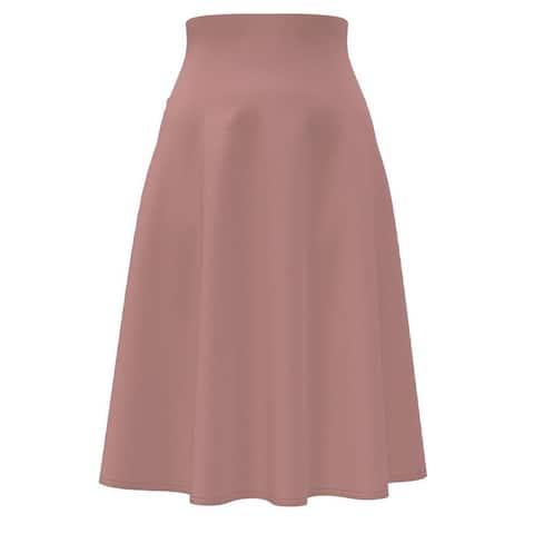 Tummy Control High-Waist A-Line Skirt