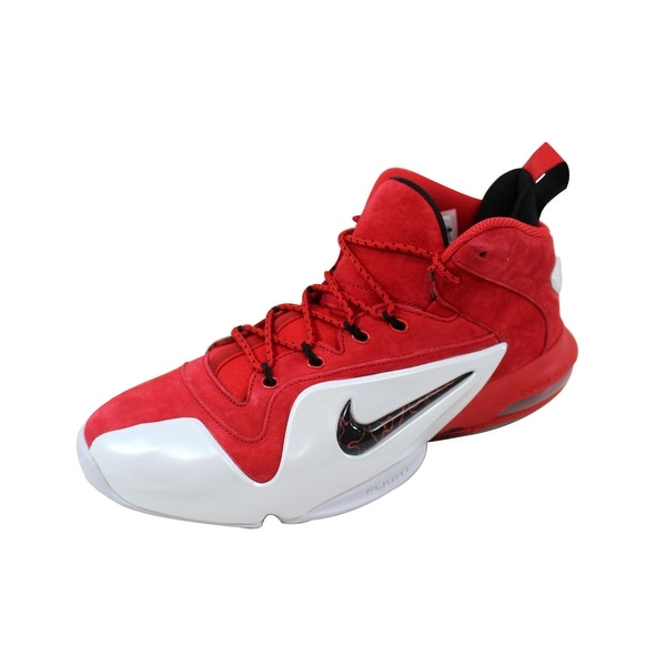 Nike Men's Zoom Penny VI 6 University Red/Black-White Red Suede 749629-600