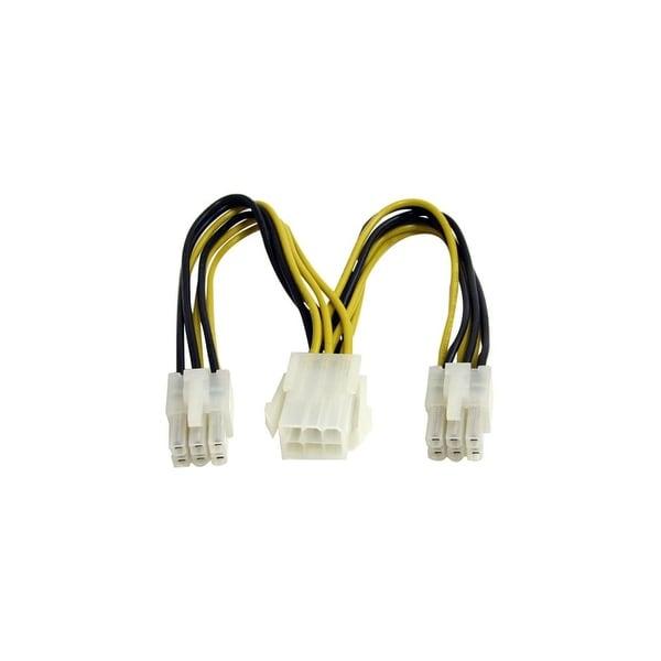 StarTech PCIEXSPLIT6 StarTech.com 6in PCI Express Power Splitter Cable - 6