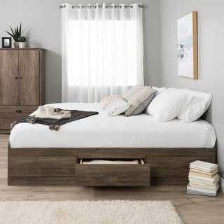 Prepac Mate's Platform Storage Bed with 6 Drawers